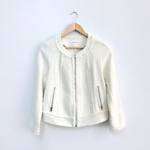 Club Monaco Jenna tweed Jacket - size 2 - NWT